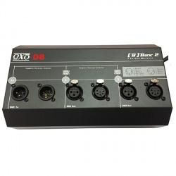 SPLITTER DMX 2 CANAUX OXO B BOX2