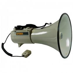 PORTEVOIX RONDSON ER W AVEC MICRO Prestacom Audiovisuel - Porte voix