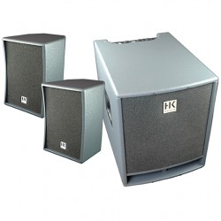 SYSTEME BI-AMPLIFIE HK LUCAS 2x300W