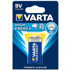BLISTER 4 PILES LR03 VARTA HIGHT ENERGY  1,5 VOLT