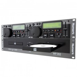 PLATINE CD DOUBLE NUMARK MP302
