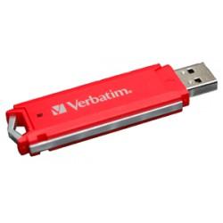 CLÉ USB ROUGE 2Go VERBATIM 47187