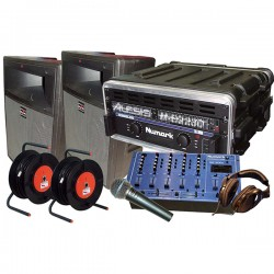 REGIE SONO DJ 200W + MIX + MIC