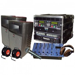 REGIE SONO DJ 200W + MIX + MIC + D.CD