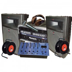 REGIE SONO DJ 300W + MIX + MIC
