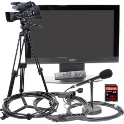 CIRCUIT VIDEO PRO AVCHD - CAMERA - ECRAN 42""