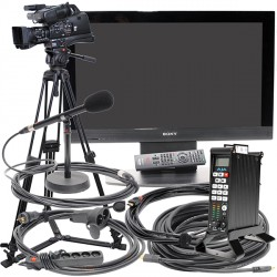 "CIRCUIT VIDEO PRO AVCHD - CAMERA - ECRAN 42"" - ENREGISTREUR"