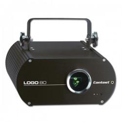 EFFET LASER 80 mW VERT CONTEST LOGO-80