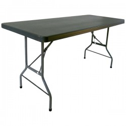 TABLE HDPE-TRALIGHT 183X76CM H74CM BLANC