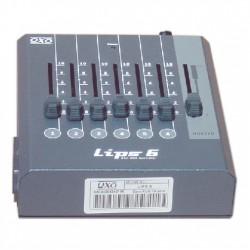 CONTROLEUR LUMIERE DMX 6 CANAUX OXO LIPS-6
